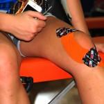 тейпы для коленного сустава